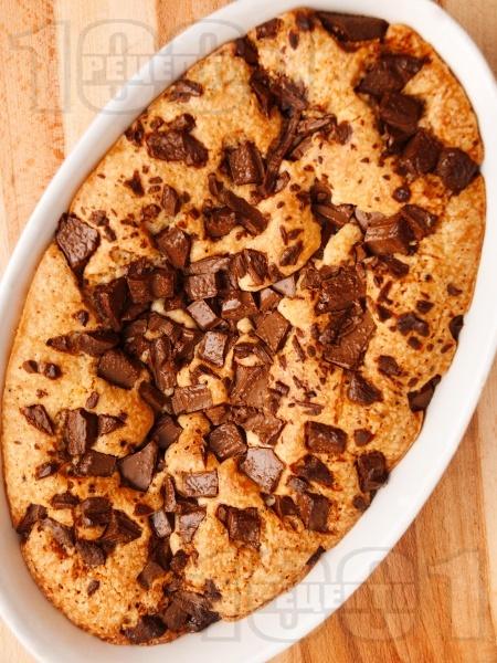 Лесен сладкиш с шоколад - снимка на рецептата